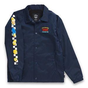 Vans x The Simpsons Torrey Coaches Jacket
